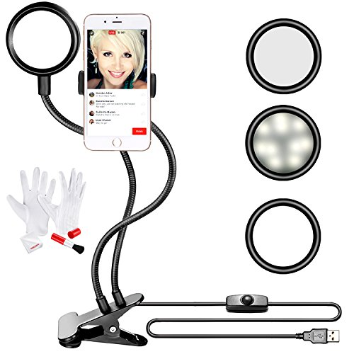 Led 2 Macro Flexible Arm Light Flash