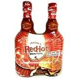 Frank's Red Hot Sauce Glass Bottle, Original Cayenne 2 pack 23oz Each