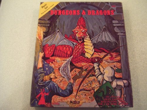 dungeons and dragons board game 1980 - 1