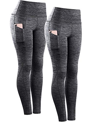 - 516zY 2BvDMSL - Neleus Women's Tummy Control High Waist Leggings with Pockets