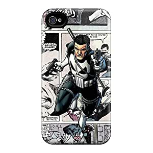 First-class Case Cover For Iphone 4/4s Dual Protection Cover The Punisher Comics