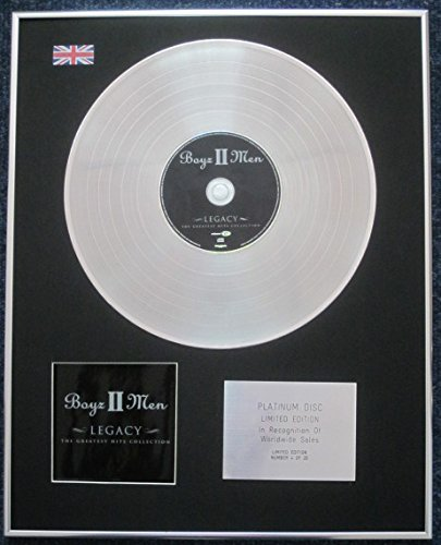 Mens Collection Platinum (Century Presentations - Boyz II Men - Limited Edition CD Platinum LP Disc - Legacy: The Greatest Hits Collection)