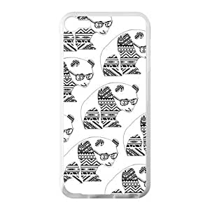 Canting_Good Cute Aztec Panda Black And White Custom Case Shell Cover for IPod Touch 5 TPU (Laser Technology)