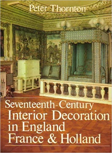 Seventeenth Century Interior Decoration In England France And Holland Studies British Art Amazoncouk Richard Thornton 9780300027761 Books