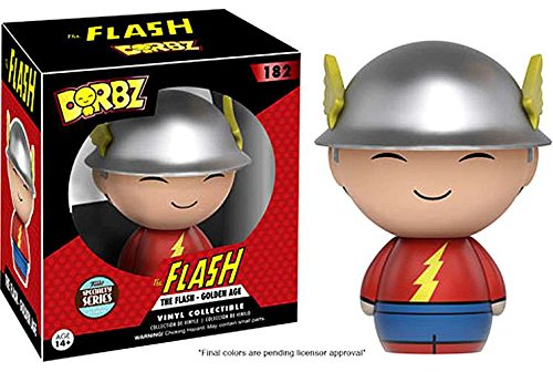 Dorbz: DC - Golden Age Flash Specialty Series Vinyl Figure! - Land And Water Forms