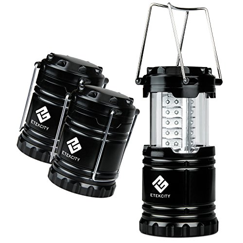 Etekcity-3-Pack-Portable-Outdoor-LED-Camping-Lantern-with-9-AA-Batteries-Black-Collapsible