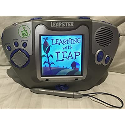 Leapster Multimedia Learning System (Triangular Console, Colors May Vary): Toys & Games