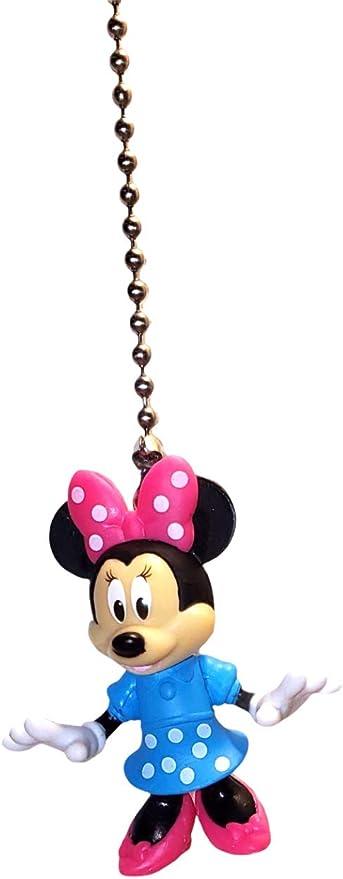 Disney Mickey Mouse Gardener Ceiling Fan Pull Cord Light Lamp Chaination K1215C