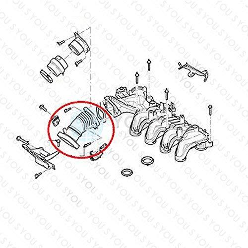 YOU.S Original 1231464 Ansaugschlauch Ladeluftschlauch Ma/ße ca 60 mm 41 x 50 mm
