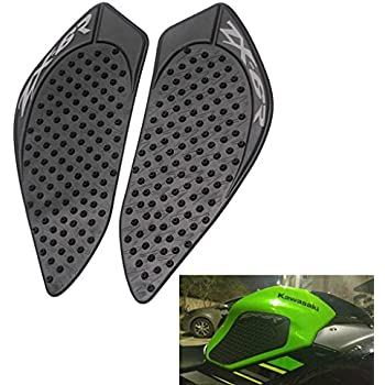 Tank Gas Pad Knee Fuel Side Grips Protector For Kawasaki ZX6R 2009-2015 (Black
