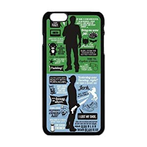 """Danny Store Hardshell Cell Phone Cover Case for New iPhone 6 Plus (5.5""""), SPN Supernatural Quotes"""