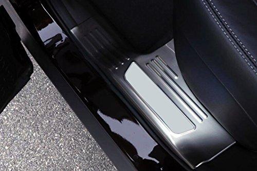 inoxydable de seuil de porte int/érieure Coque de protection de seuil pour accessoire de voiture RNKL