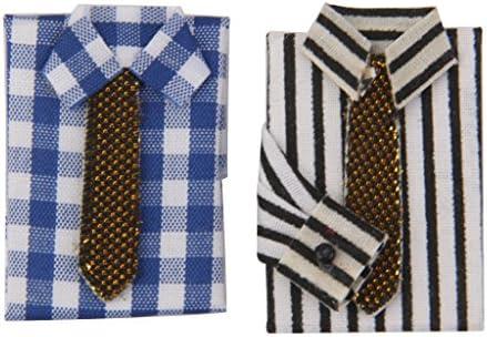 Amazon.es: perfeclan Casa De Muñecas Miniatura Camisas ...