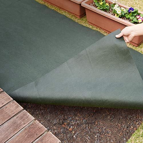 [スポンサー プロダクト]アストロ 防草シート 1×5m グリーン 不織布 厚手 高透水 UV耐候剤配合 高耐久 602-21