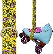 Roller Skate Leash   Strap for Quad Skates, Yoga Mat, Rollerskates   Accessories, Gear Bag for Outdoor Roller