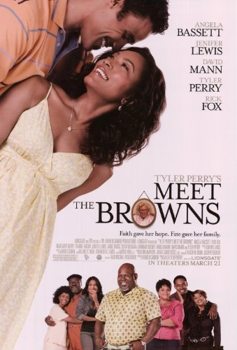 Tyler Perry's Meet The Browns Movie Poster (11 x 17 Inches - 28cm x 44cm) (2008) Style C -(Tyler Perry)(Angela Bassett)(Sofía Vergara)(Jenifer Lewis)