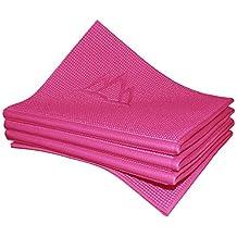 Khataland YoFoMat - Best Travel Yoga Mat, Foldable, with Travel Bag, Extra Long 72-Inch, Free From Phthalates & Latex