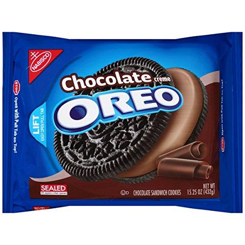(Oreo Chocolate Creme Chocolate Sandwich Cookies, 15.25)
