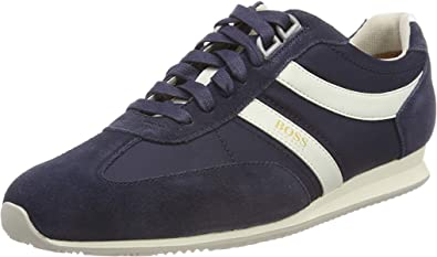 14f2f5f2a5c80 Amazon.com: Hugo Boss Shoes Suede Mens Athletic Casual Sneakers ...