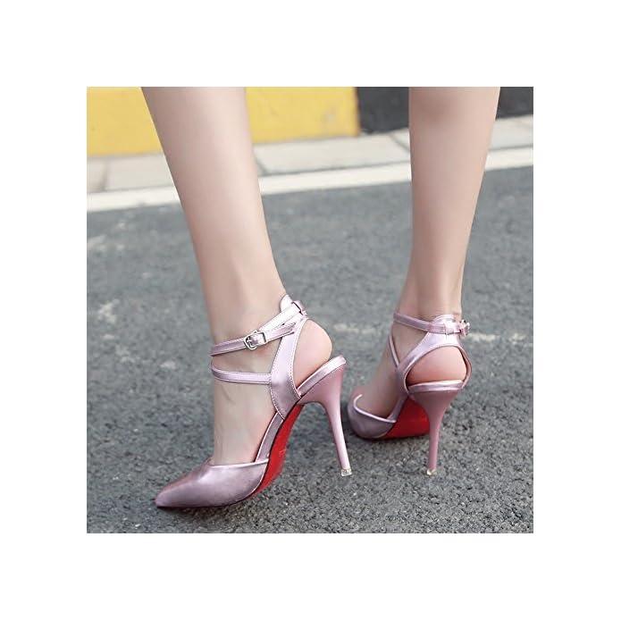 Bajian-li Alta Heelswomen Sandali Estivi Di Peep Toe Scarpe Basse Ladies Flip Flop