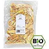 Getrocknete Mango Sorte Brooks ● Trockenfrüchte Ohne Zucker ● Schwefelfrei ● Besonders Aromatisch ● Aus Burkina Faso ● 1 kg Packung ● KoRo Drogerie