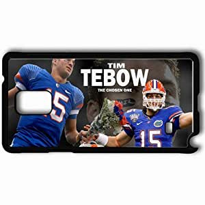 Personalized Samsung Note 4 Cell phone Case/Cover Skin 14591 tim tebow by jason284 d3101q6 Black