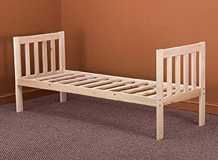 Amazon.com: Mission Daybed Frame - Solid Hardwood (Twin): Kitchen ...