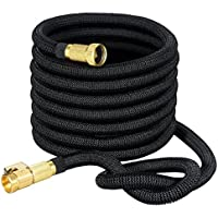 VicTsing Expandable 50ft Water Hose with On/Off Valve, 3/4