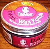 Tableau Dark Wax Polish - 100ml - Soft Wax Polish For Dark Wood
