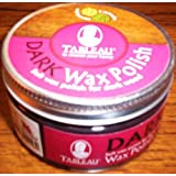 Tableau Dark Wax Polish - 100ml - Soft Wax Polish For Dark Wood