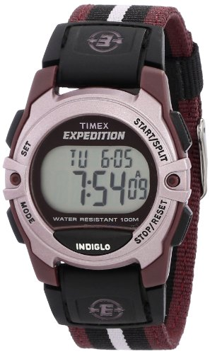 - Timex Expedition Digital Chrono Alarm Timer 33mm Watch