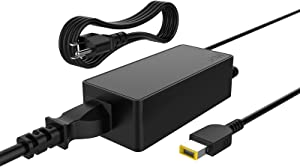 65W 45w Charger for Lenovo Square Connector for Thinkpad T440 G50 T460 T470 T450, X1 Carbon, Flex 3 ADLX45NDC2A PA-1650-72 Laptop-Power Supply Cord by Uflatek (Not USB-C!)