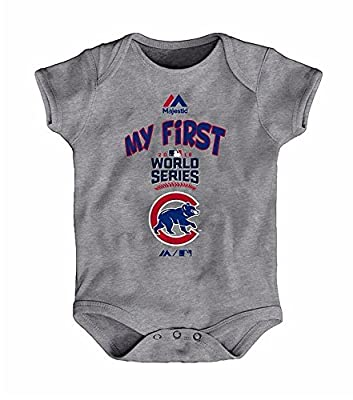 Chicago Cubs MLB Infant Sizes My First World Series Creeper Onesie