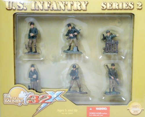 21st Century Toys - The Ultimate Soldier 32X U.S. Infantry Series 2 Action Figures 21st Century Toys Ultimate Soldier