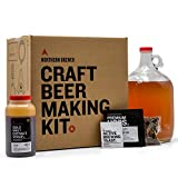 Northern Brewer 1 Gallon Craft Beer Making Starter Kit with Smashing Pumpkin Ale Beer Recipe Kit - Equipment and Ingredients for Homebrewing