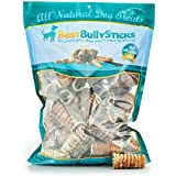 Best Bully Sticks 100% Natural 3-Inch Beef Trachea Dog Chews by (50 Pack)