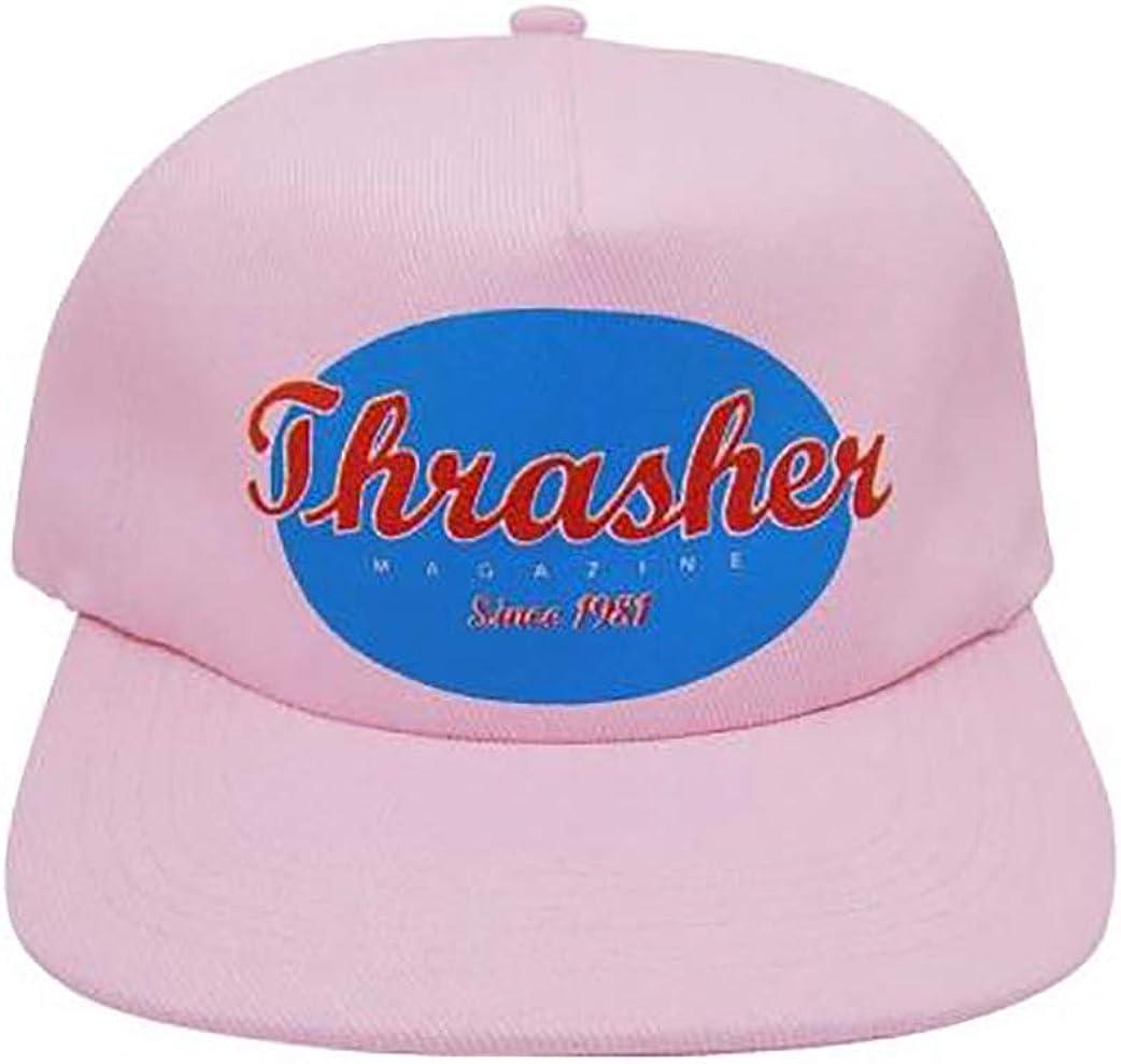 Thrasher Magazine Gorra Ovalada Snapback Cap - Pink: Amazon.es ...