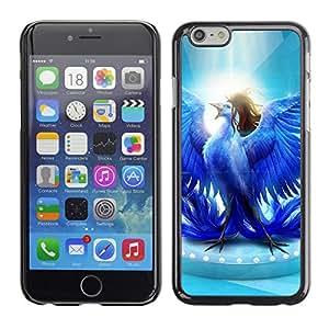 CaseCaptain Carcasa Funda Case - Apple Iphone 6 PLUS 5.5 / Glorious Blue Bird /