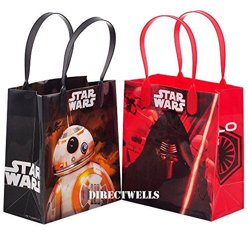 Disney Star Wars Authentic Licensed 12 Reusable Small Goodie Bags