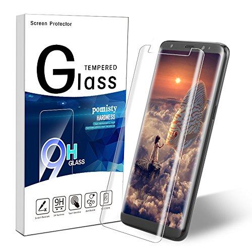 Galaxy S8 Plus Panzerglas Schutzfolie, Pomisty Samsung S8+ Displayschutzfolie Schutzfolie, 9H Härte,Anti-Kratzen Glas Folie mit Samsung Galaxy S8 Plus (Samsung Galaxy S8 Plus)