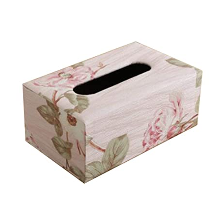 China Show Vintage Rectangular Tissue Holder Caja Decorativa Papel ...