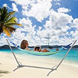 Rusee Double 2 Person Cotton Fabric Canvas Travel Hammocks...