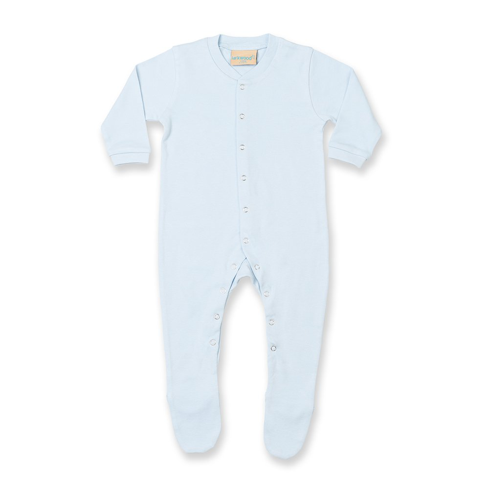 Larkwood 100/% Cotone Azzurro 6 mesi Pigiamino Intero per Neonato