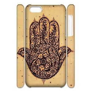 Evil Eye Hamsa Customized 3D Cover Case for Iphone 5C,custom phone case ygtg611265