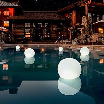 4-PK Floating Pool Lights, 12