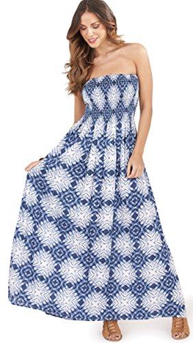 38 de styles Diffrents plage bretelles sans Bleu colore manches Robe z0Hwdq4H