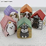 5Pcs Cute Animal Little Dog Post It, Memo Pads, Sticky Note Paper Stickers, Sticker Marker Bookmark Stationery School Chic and Cute