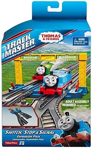 TRACKMASTER THOMAS TANK ENGINE  2 STOP PLATE TRACK STRAIGHTS BUFF