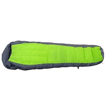 Xin M Outdoor Mummy Down - Saco de dormir ligero ultra compacto para senderismo, acampada
