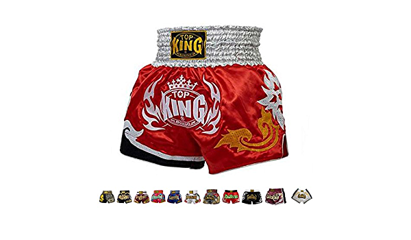3L XL M L 4L Top King Boxing Muay Thai Shorts Normal or Retro Style Size S